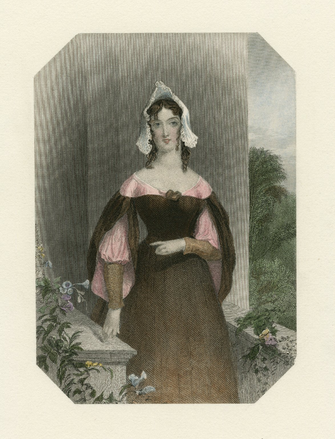Anne Page, Shakespeare gallery, [character in Shakespeare's] Merry wives of Windsor [graphic] / K. Meadows ; H. Robinson.