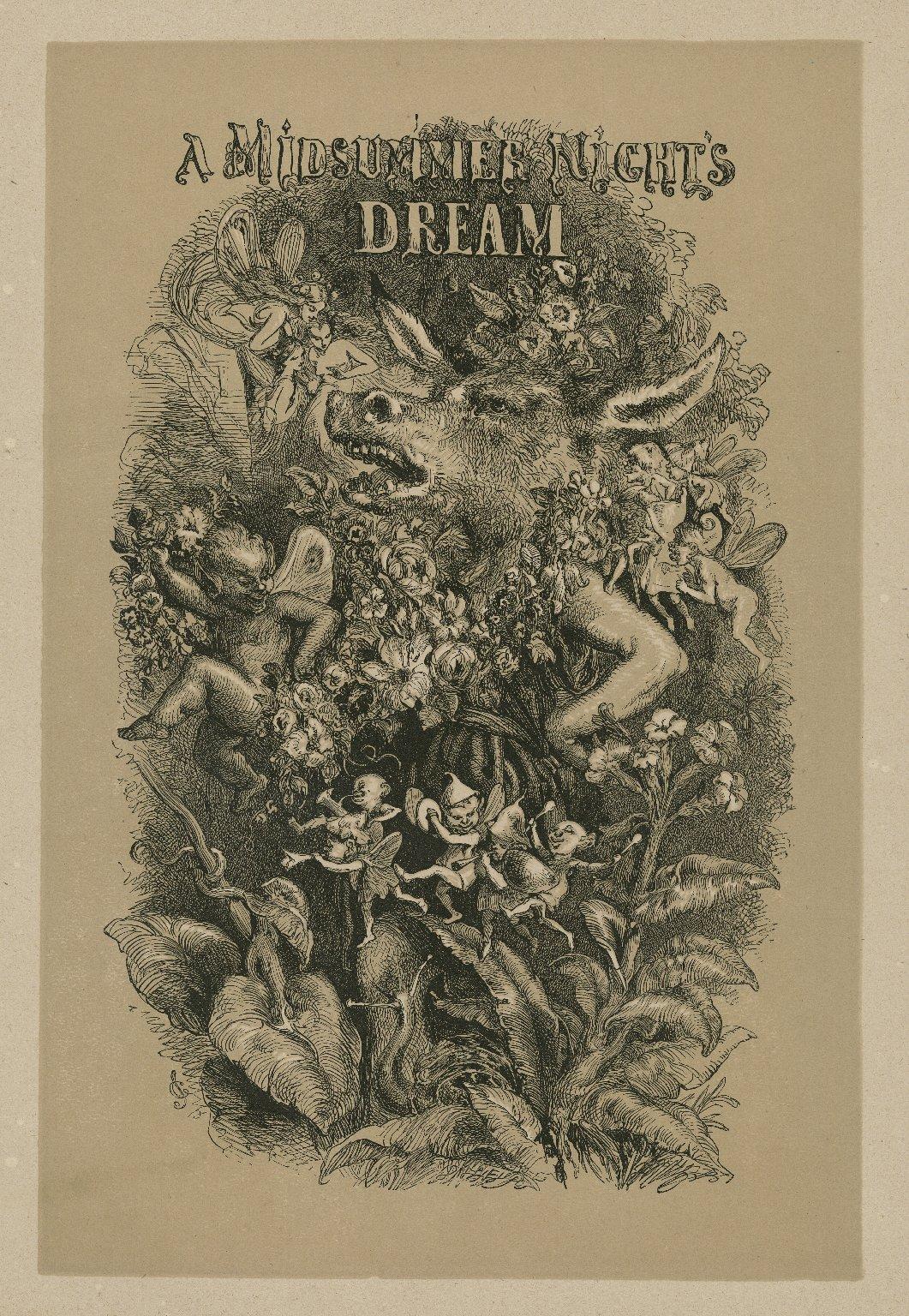 A midsummer night's dream [act III, scene 1] [graphic] / JG ; Dalziel, Sc.