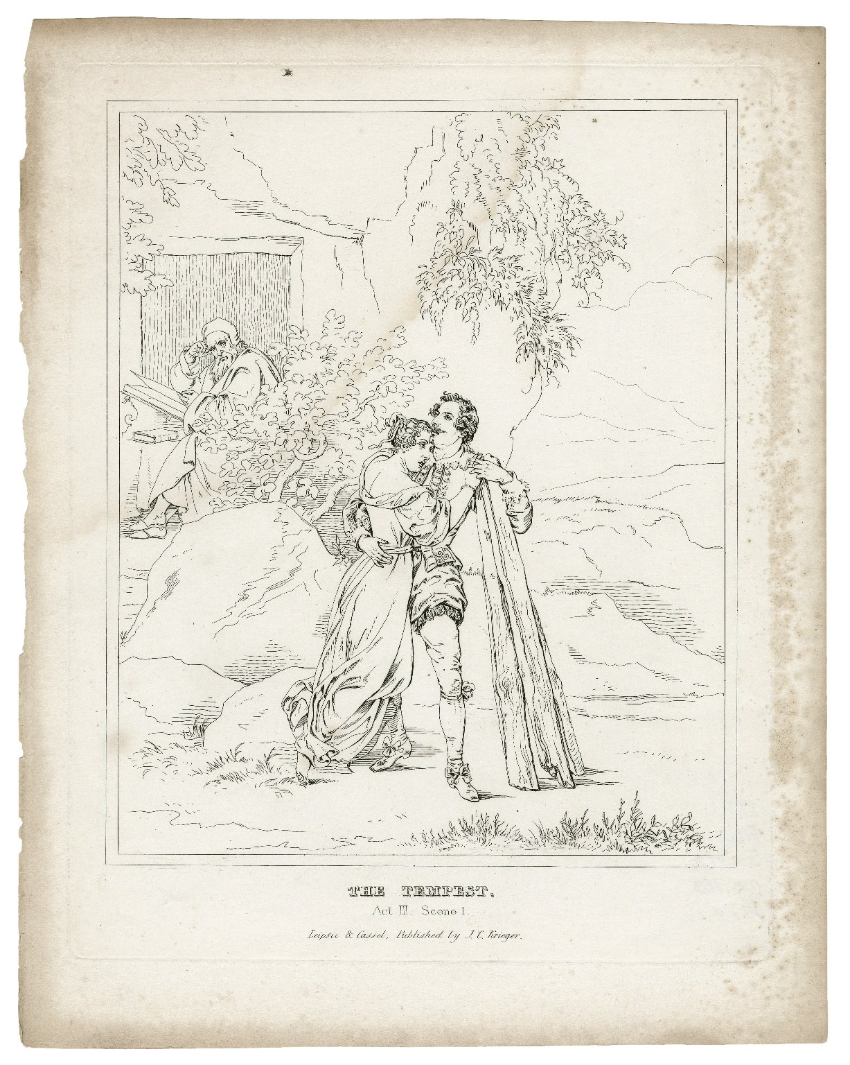 The tempest [a series of engravings] [graphic].