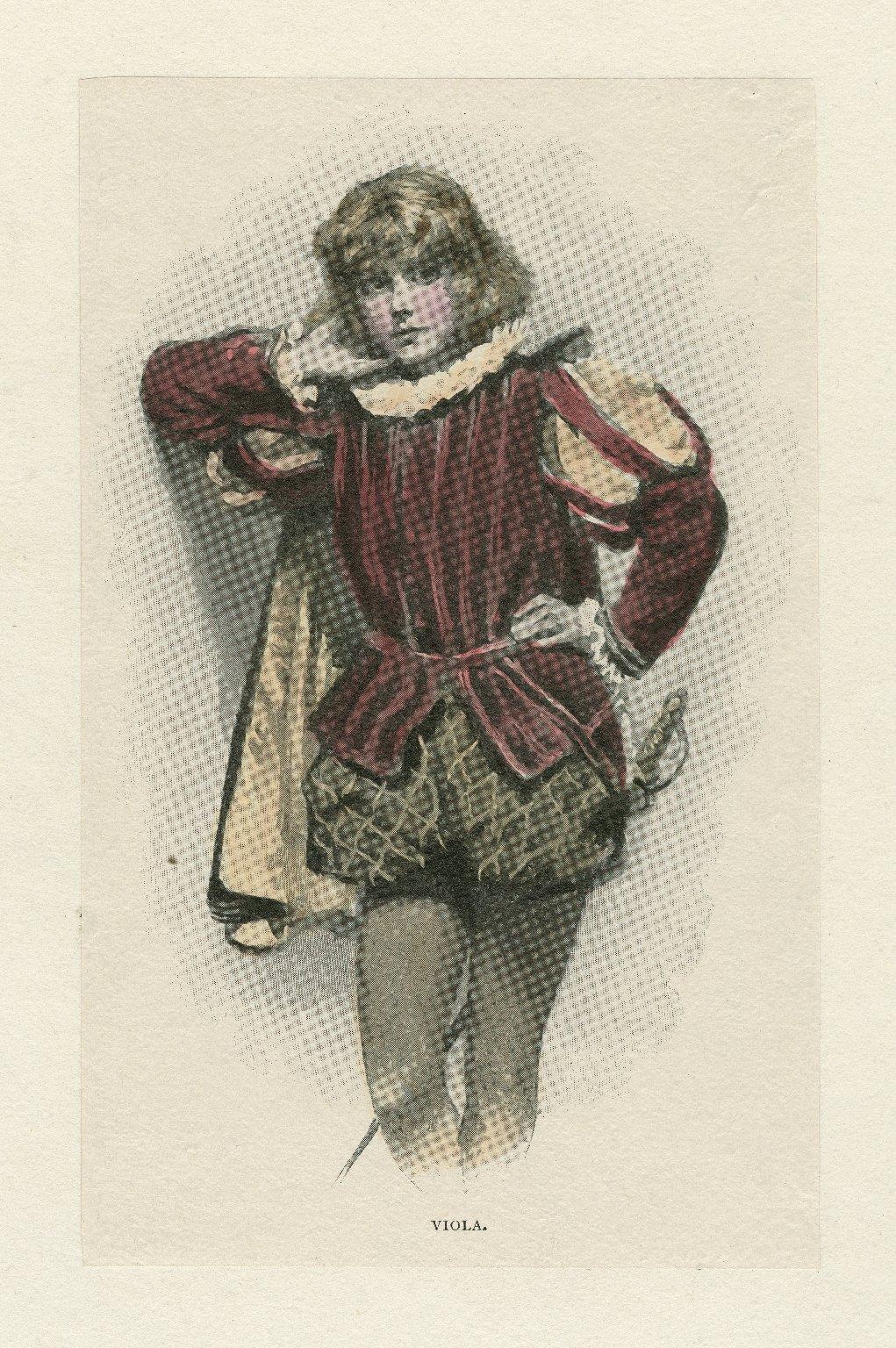 Viola [in Twelfth night] [graphic].
