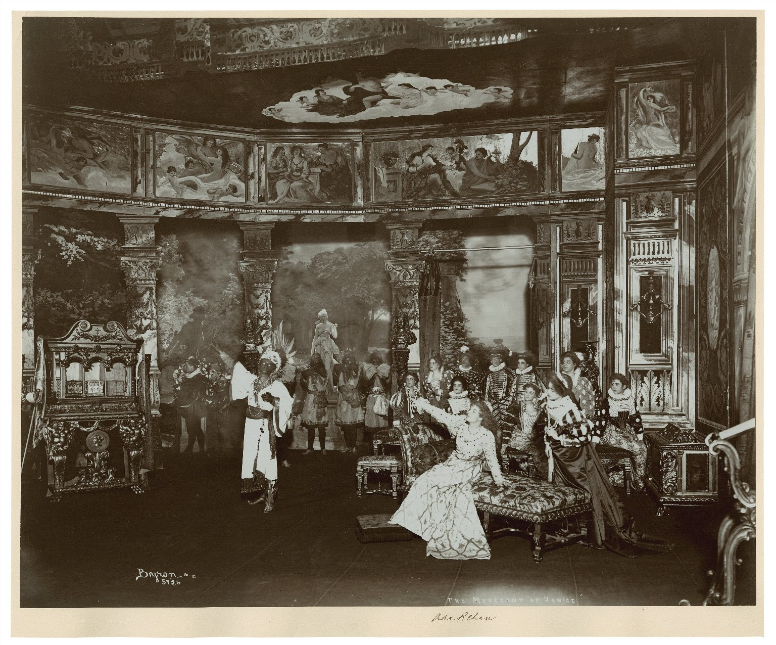 Merchant of Venice [graphic] : [11 photographs of Augustin Daly's production at the Daly Theatre, New York, 1898] / Byron.