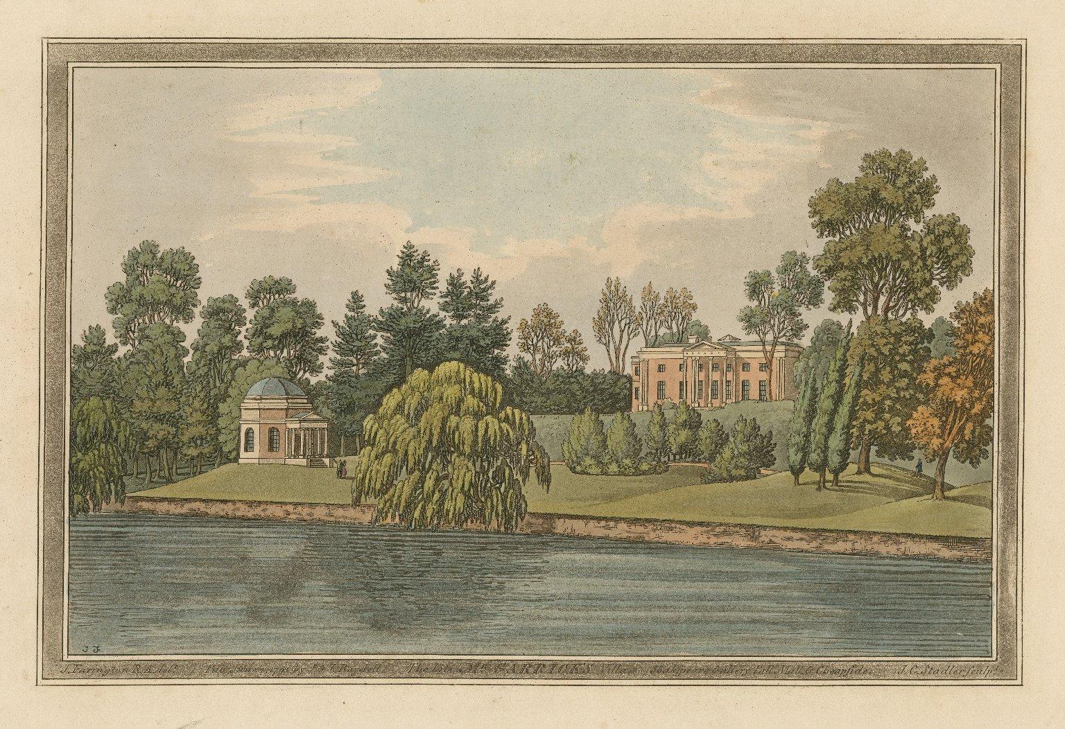 The late Mr. Garrick's villa [graphic] / J. Farington R.A. delt. ; J.C. Stadler sculpt.