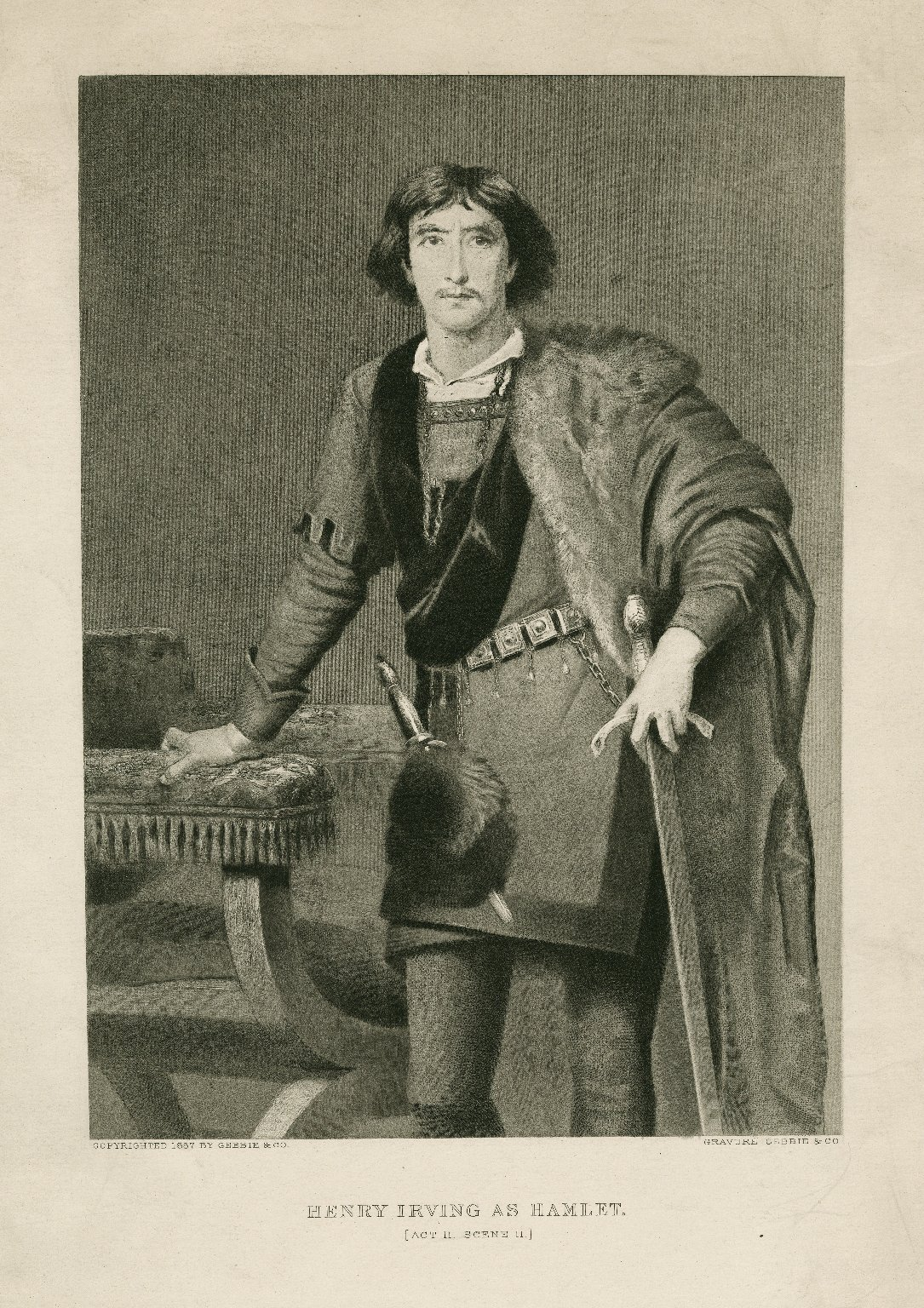 Henry Irving as Hamlet ... [graphic].
