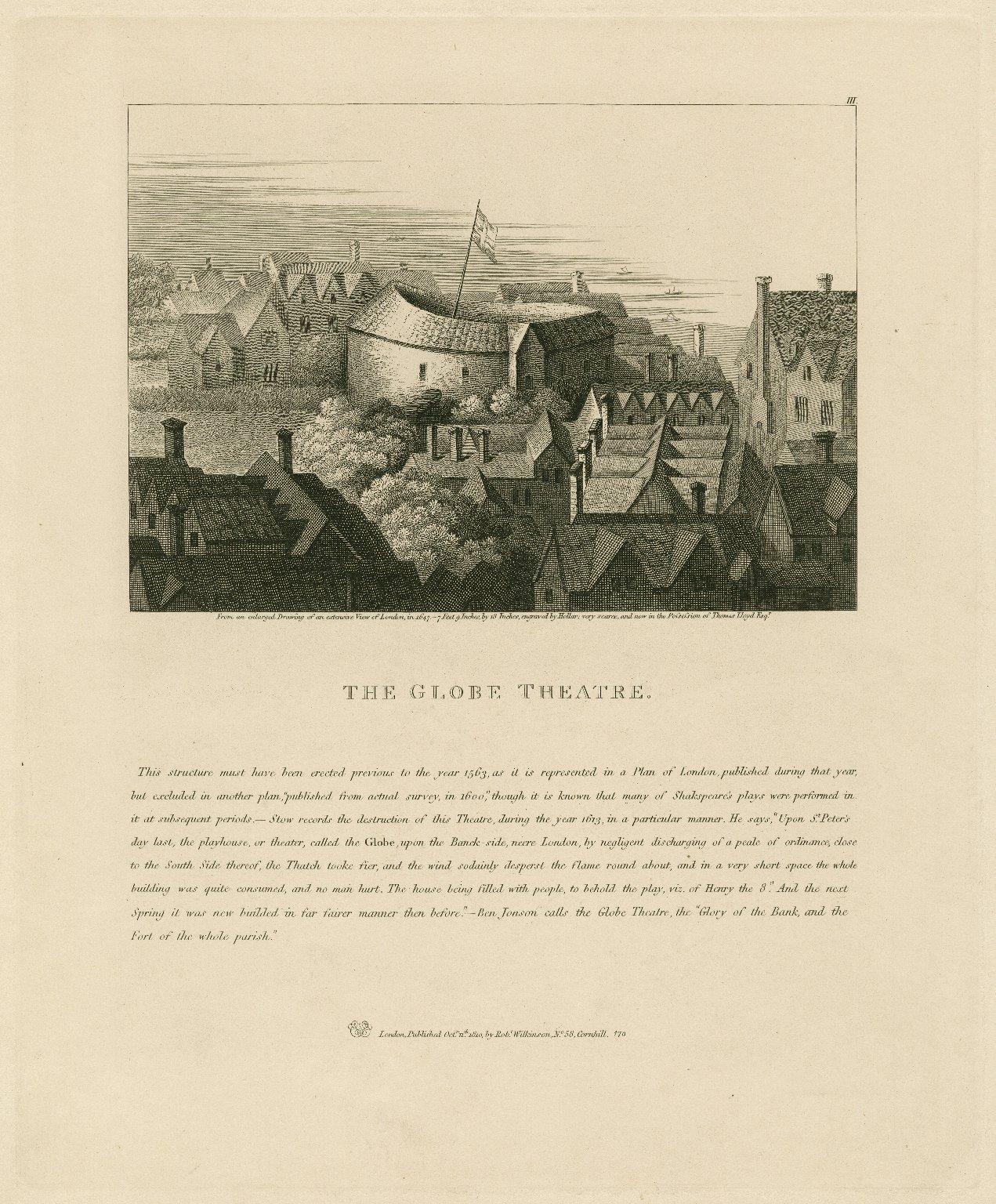 The Globe Theatre ... [graphic].