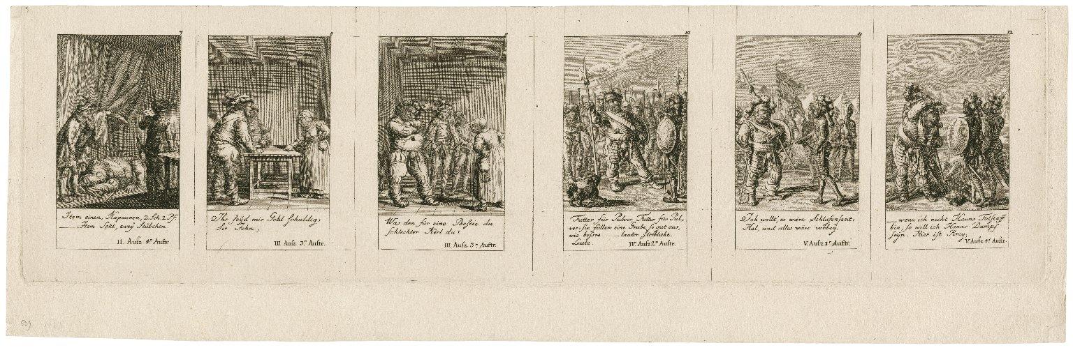 König Heinrich der Vierte, W. Shakespear's Schauspiele [graphic] / D. Chodowiecki inv. et sc.