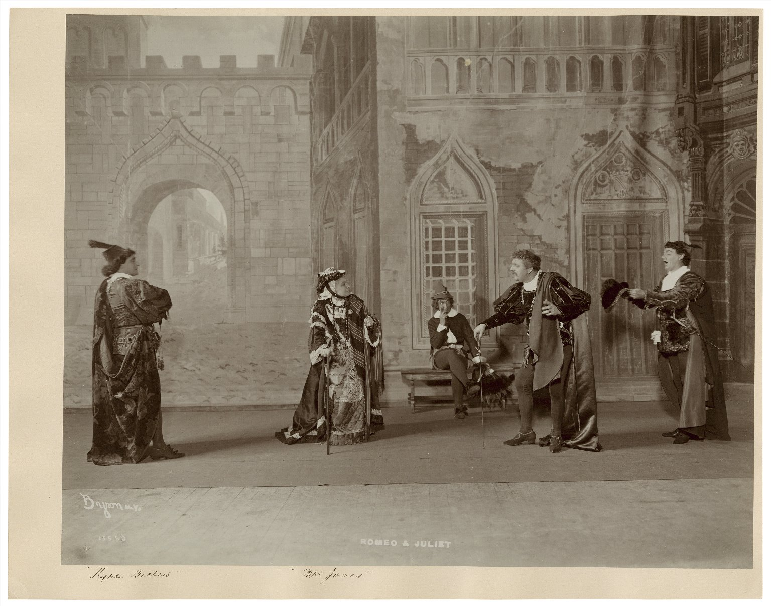[17 photographs of a production by Liebler & Co. of] Romeo and Juliet [1903?]: Kyrle Bellew [as Romeo], Eleanor Robson [as Juliet], W.H.Thompson [as Friar Lawrence], Mrs. W.G. Jones [as the Nurse] [graphic] / Byron.