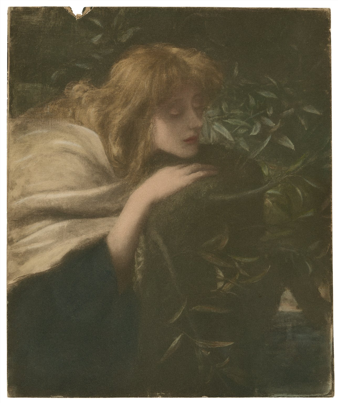 [Ellen Terry as Ophelia in Shakespeare's Hamlet] [graphic] / [George Frederick Watts] ; photographed by Fredk. Hollyer.