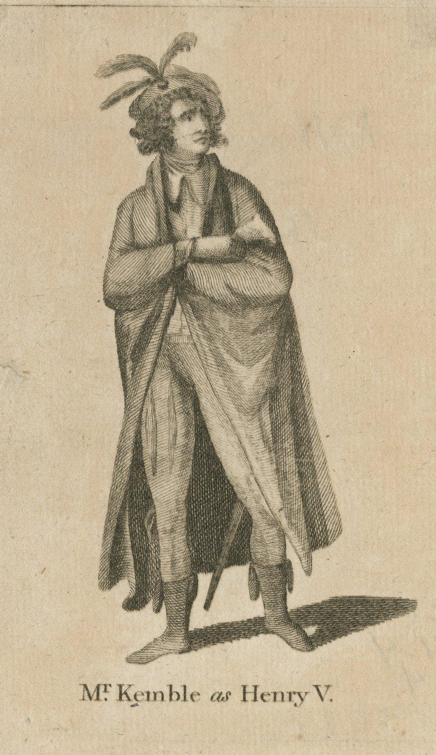 Mr. Kemble as Henry V [in Shakespeare's King Henry V] [graphic].