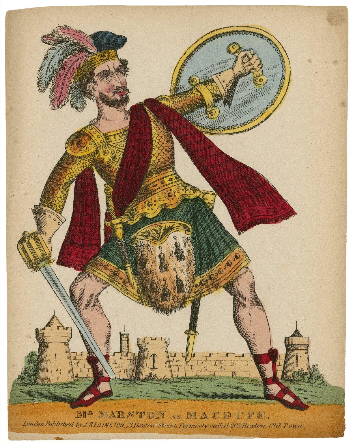 Mr. Marston as Macduff [graphic].