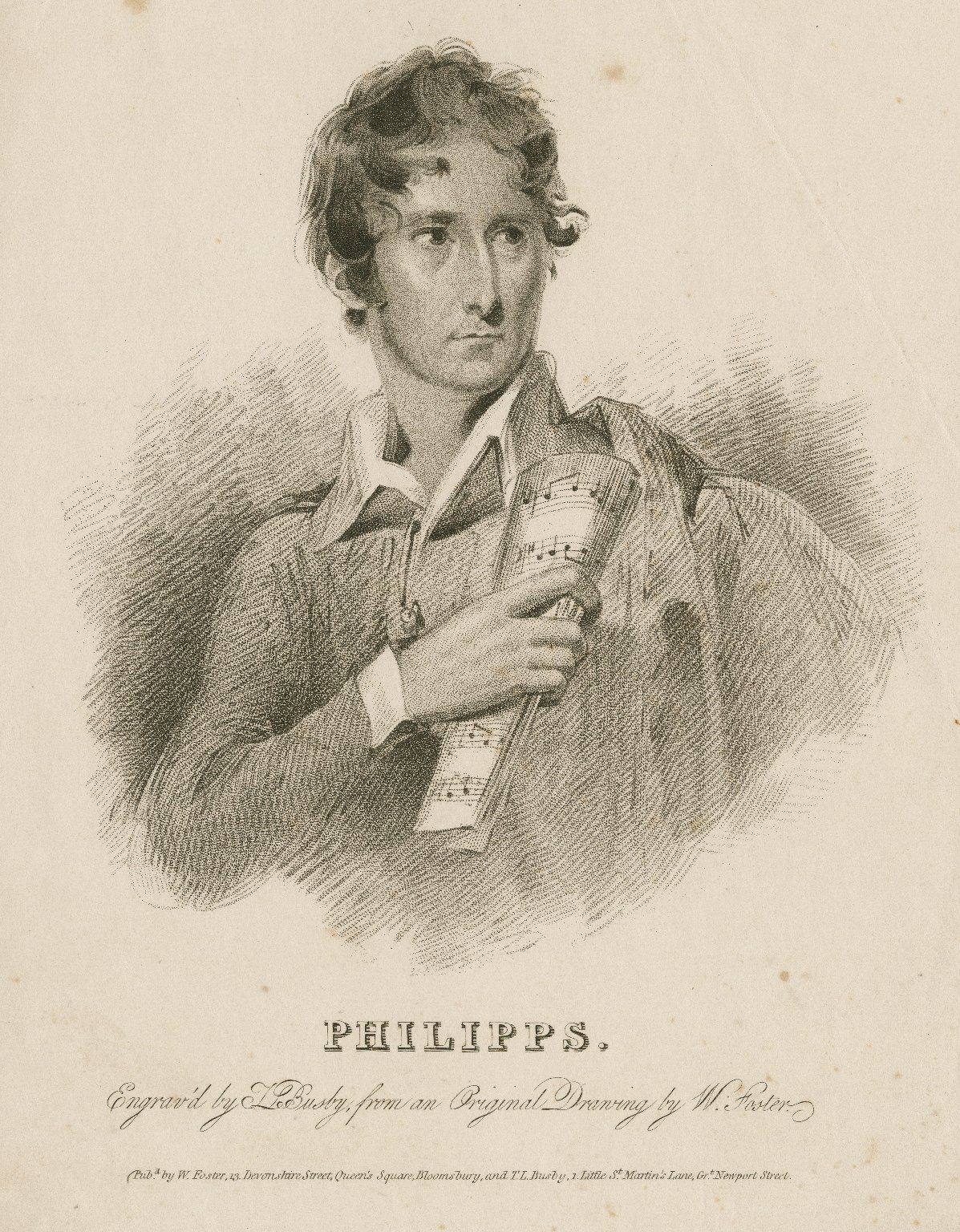 Philipps [graphic] / engrav'd by T.L. Busby ; from an original drawing by W. Foster.