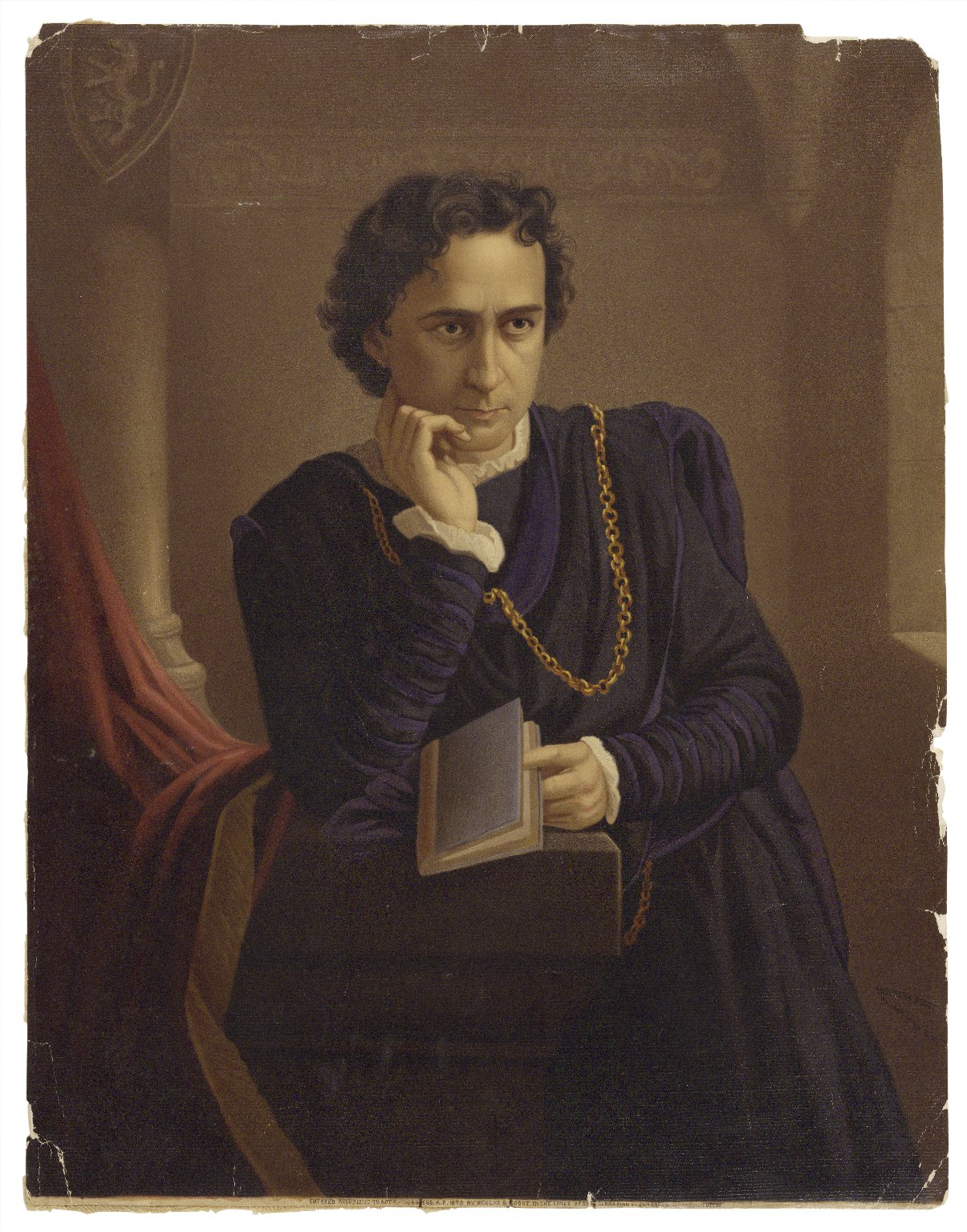 [Edwin Booth as Hamlet] [graphic].