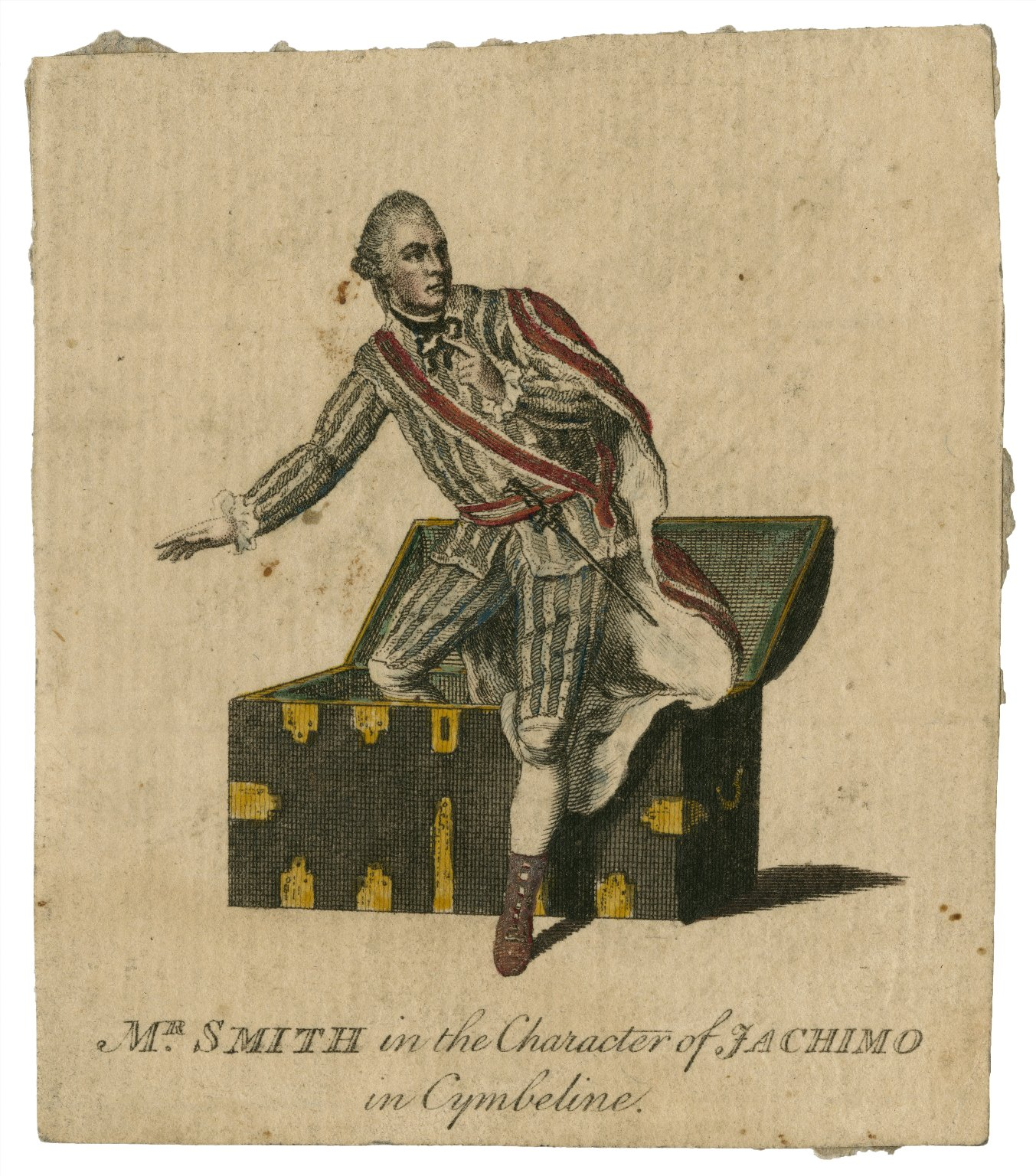 Mr. Smith in the character of Jachimo in [Shakespeare's] Cymbeline [graphic].