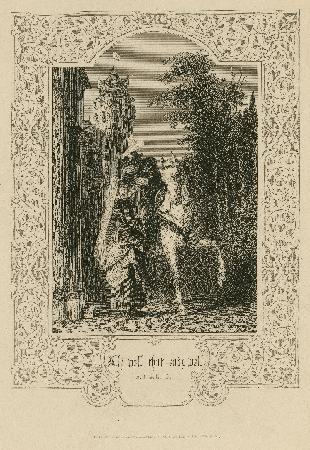 All's well that ends well, act 4, sc. 2 [graphic].