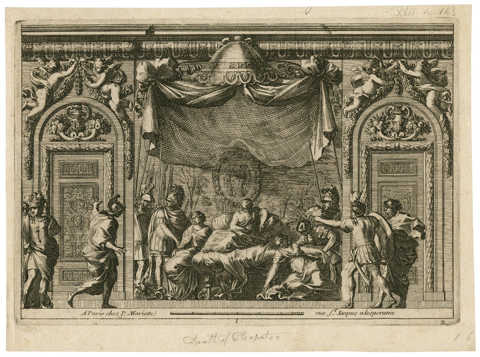 [Death of Cleopatra, Antony and Cleopatra, act 5, scene 2] [graphic].