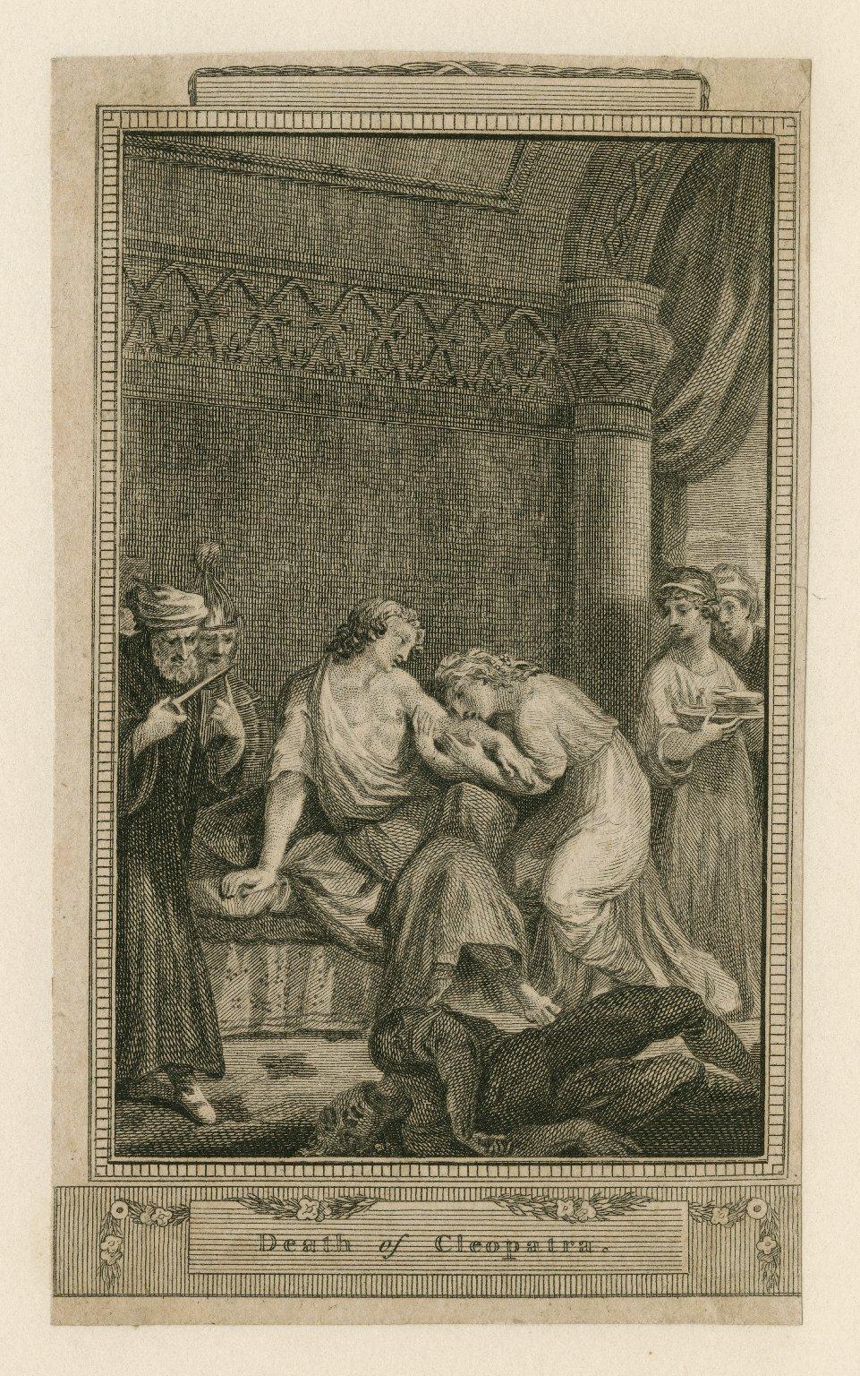 Death of Cleopatra [Antony and Cleopatra, act V, scene 2] [graphic].