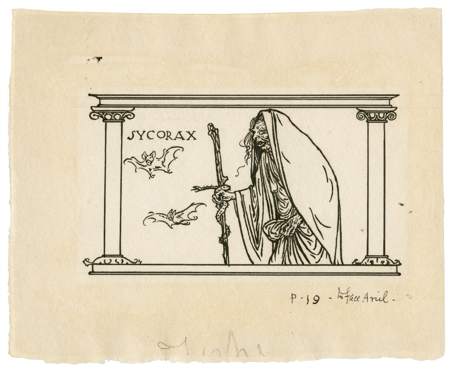 Sycorax [graphic] / [Robert Anning Bell].