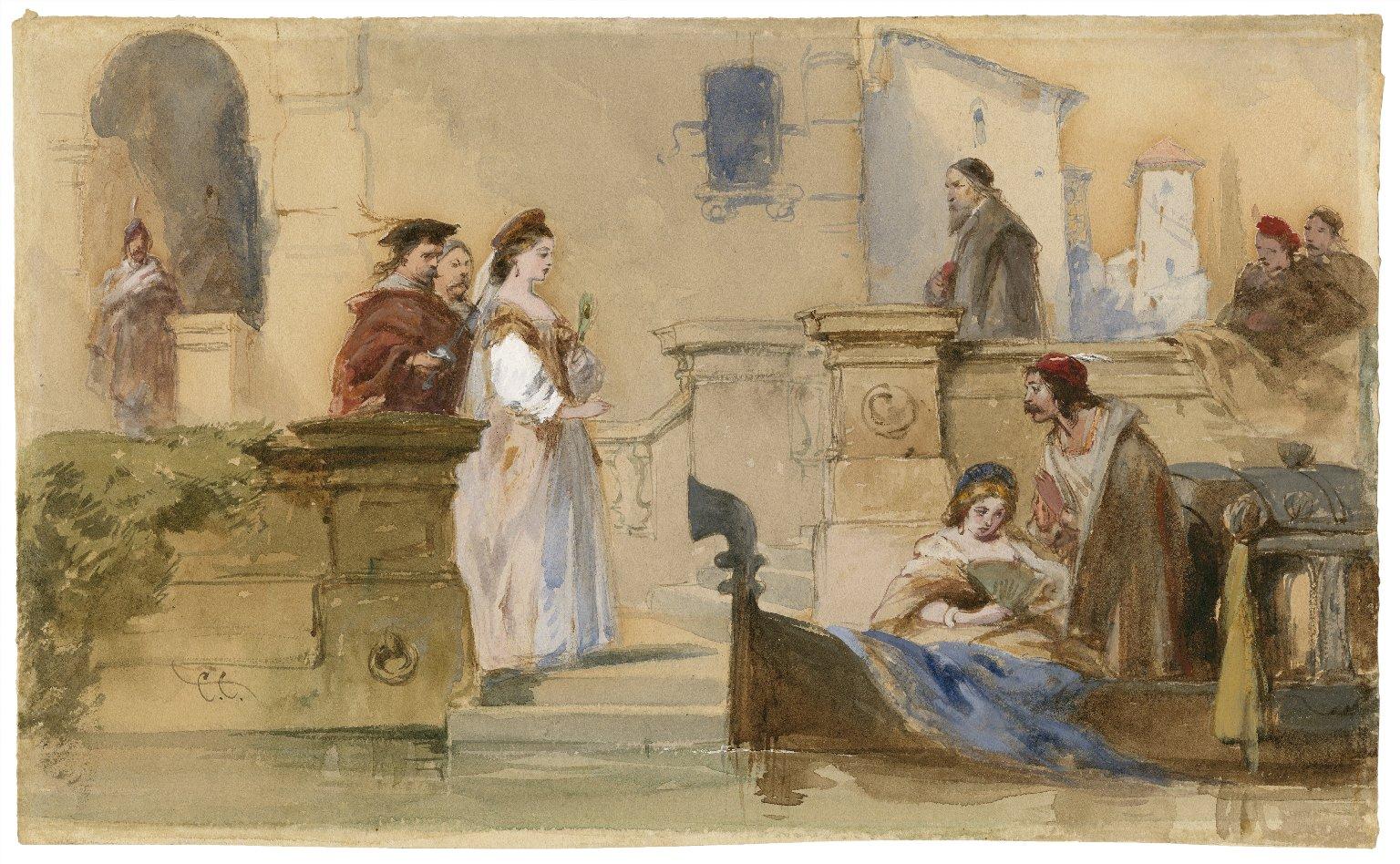 [Merchant of Venice, V, 1] [graphic] / C.C.