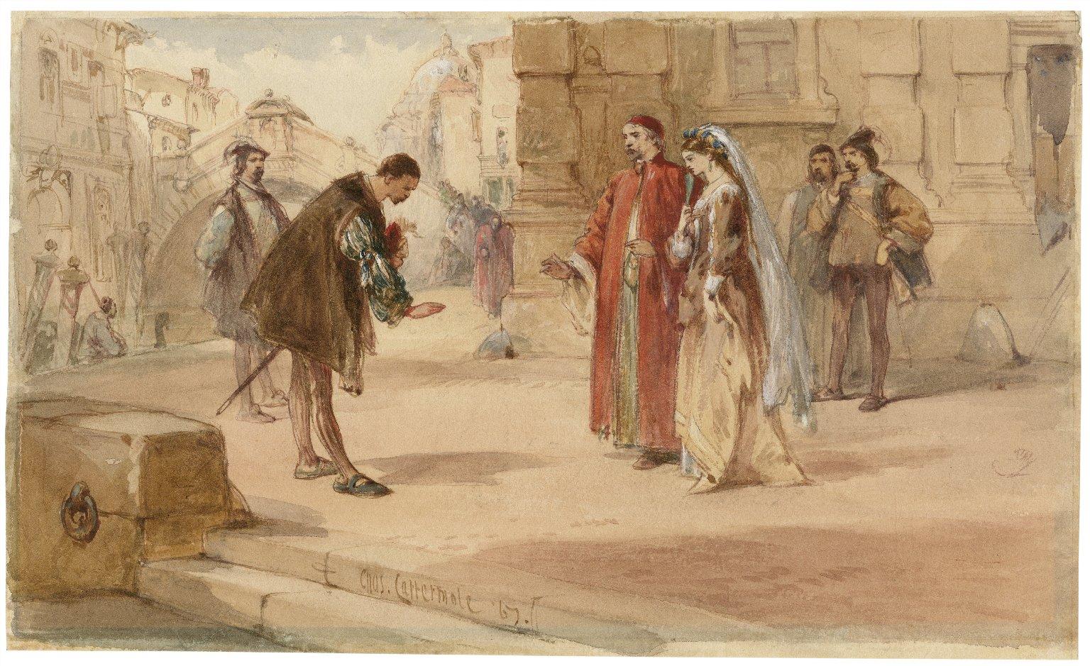 Merchant of Venice, V, 1 [graphic] / Chas. Cattermole.