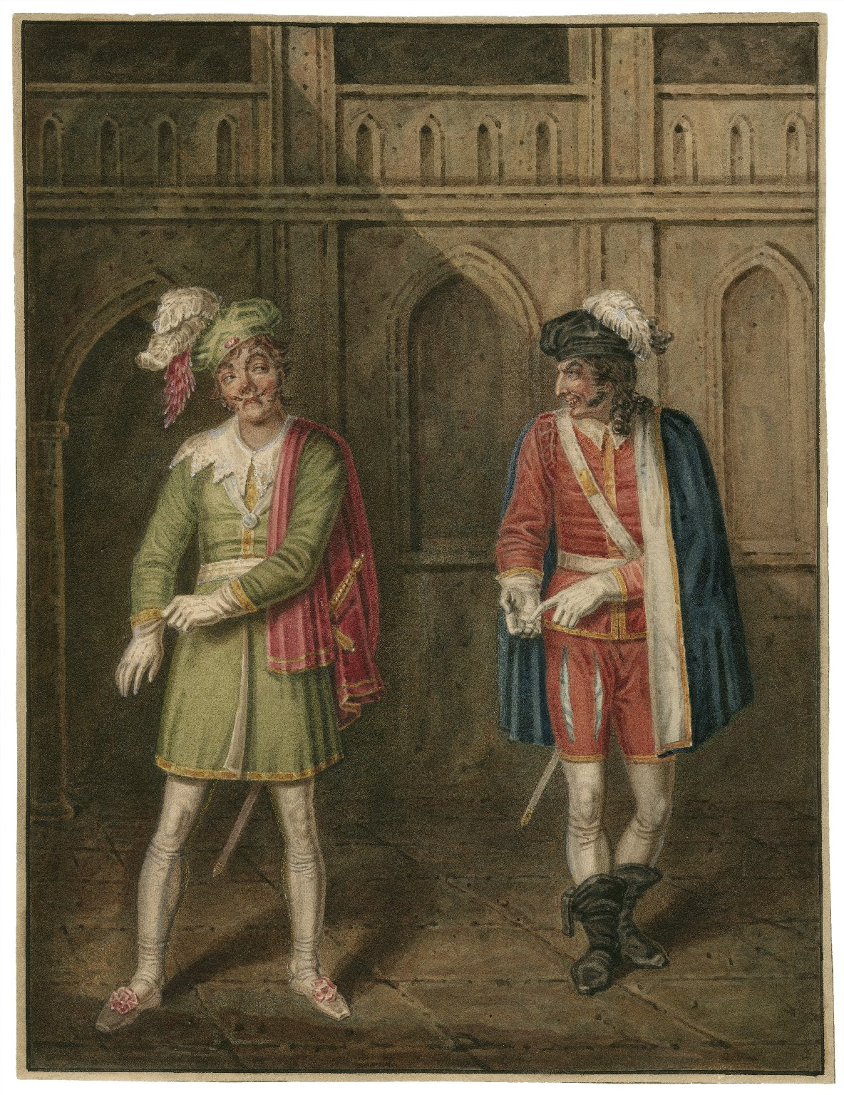 Othello [I,1] Roderigo and Iago [graphic] / [J. Coghlan].