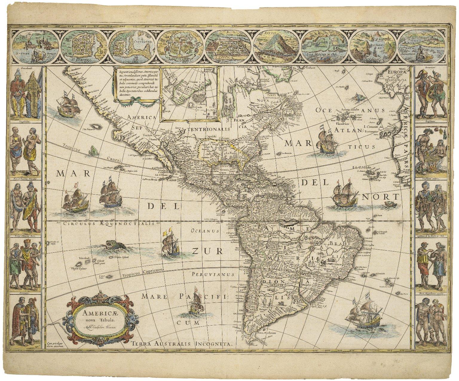 Americae nova tabula [map]