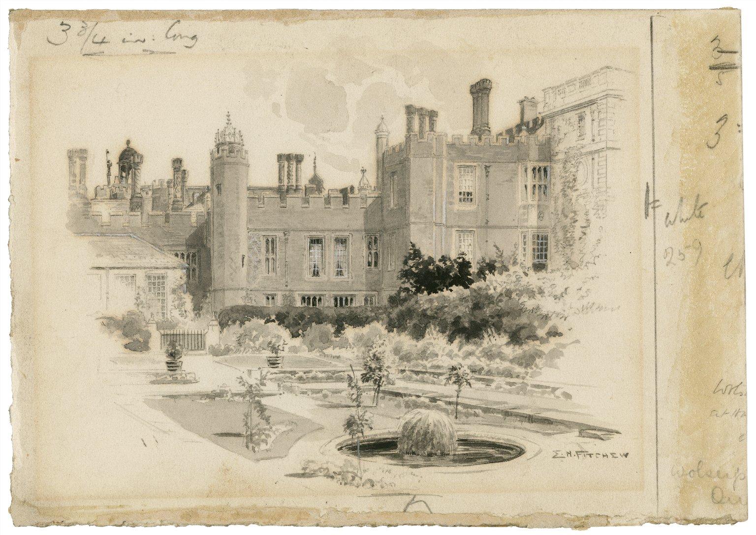 Wolsey's Palace [graphic] / E.H. Fitchew.