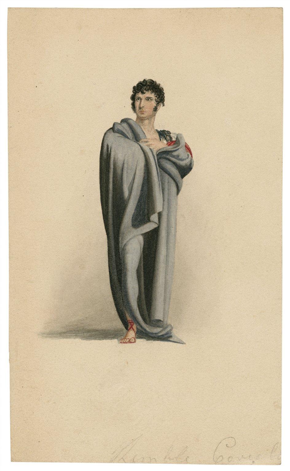 Kemble [as] Coriolanus [in Shakespeare's Coriolanus] [graphic].