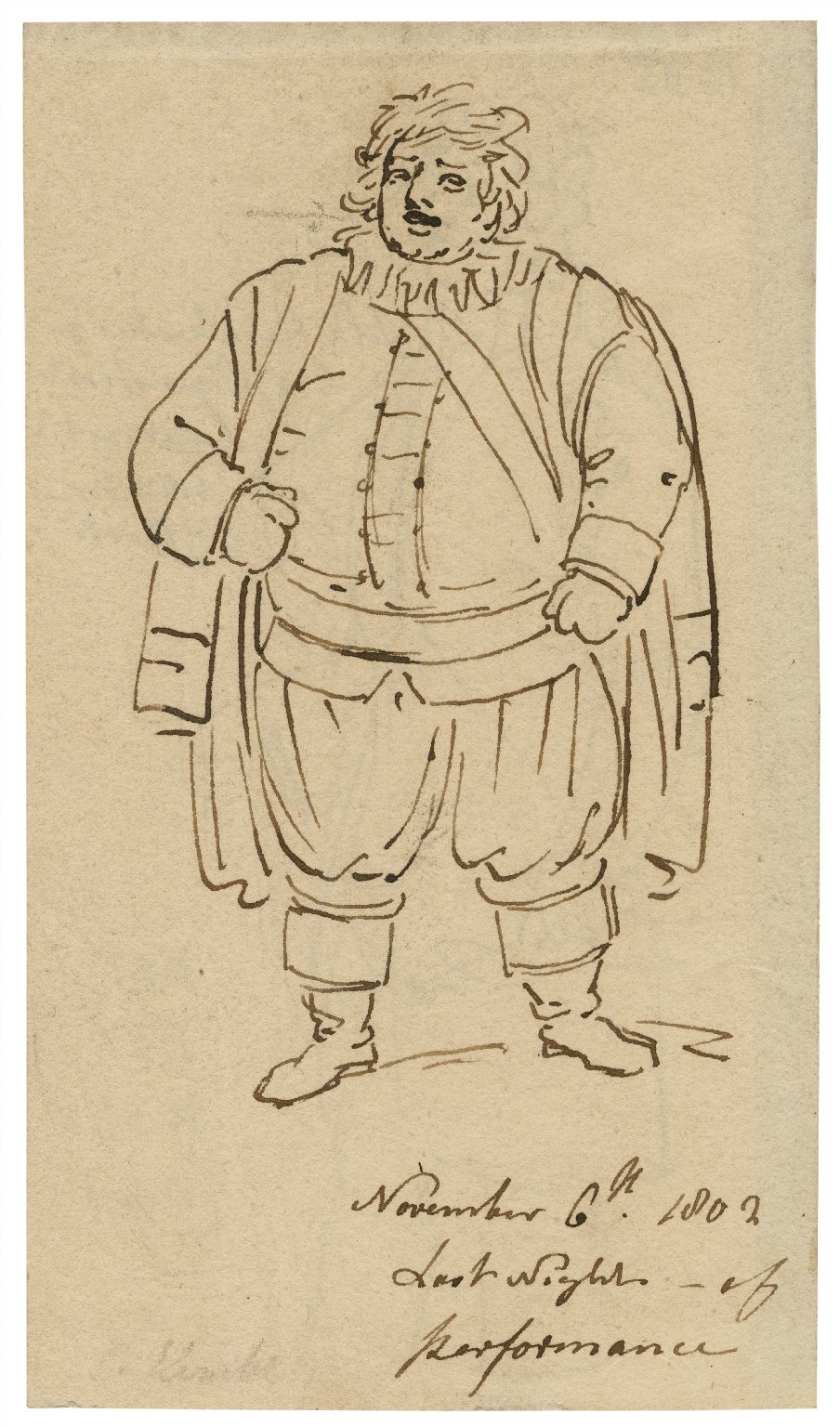 [King Henry IV, pt.1, Stephen Kemble as Falstaff] [graphic].