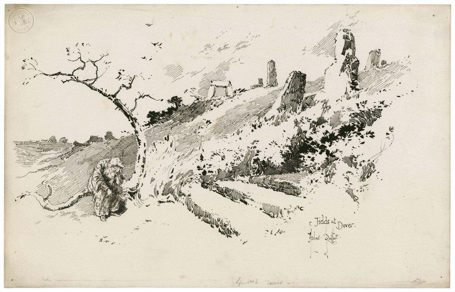 Fields at Dover [King Lear] [graphic] / Herbert Railton.