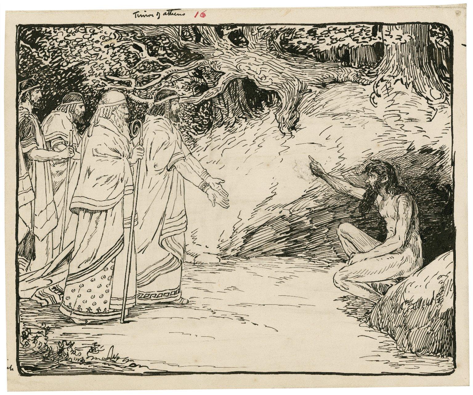 Timon of Athens [graphic] / [Louis Rhead].