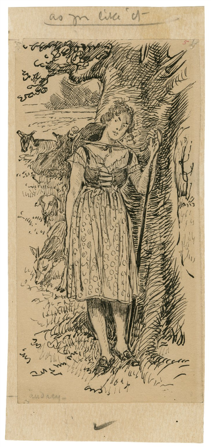 As you like it, Audrey [graphic] / [Louis Rhead].