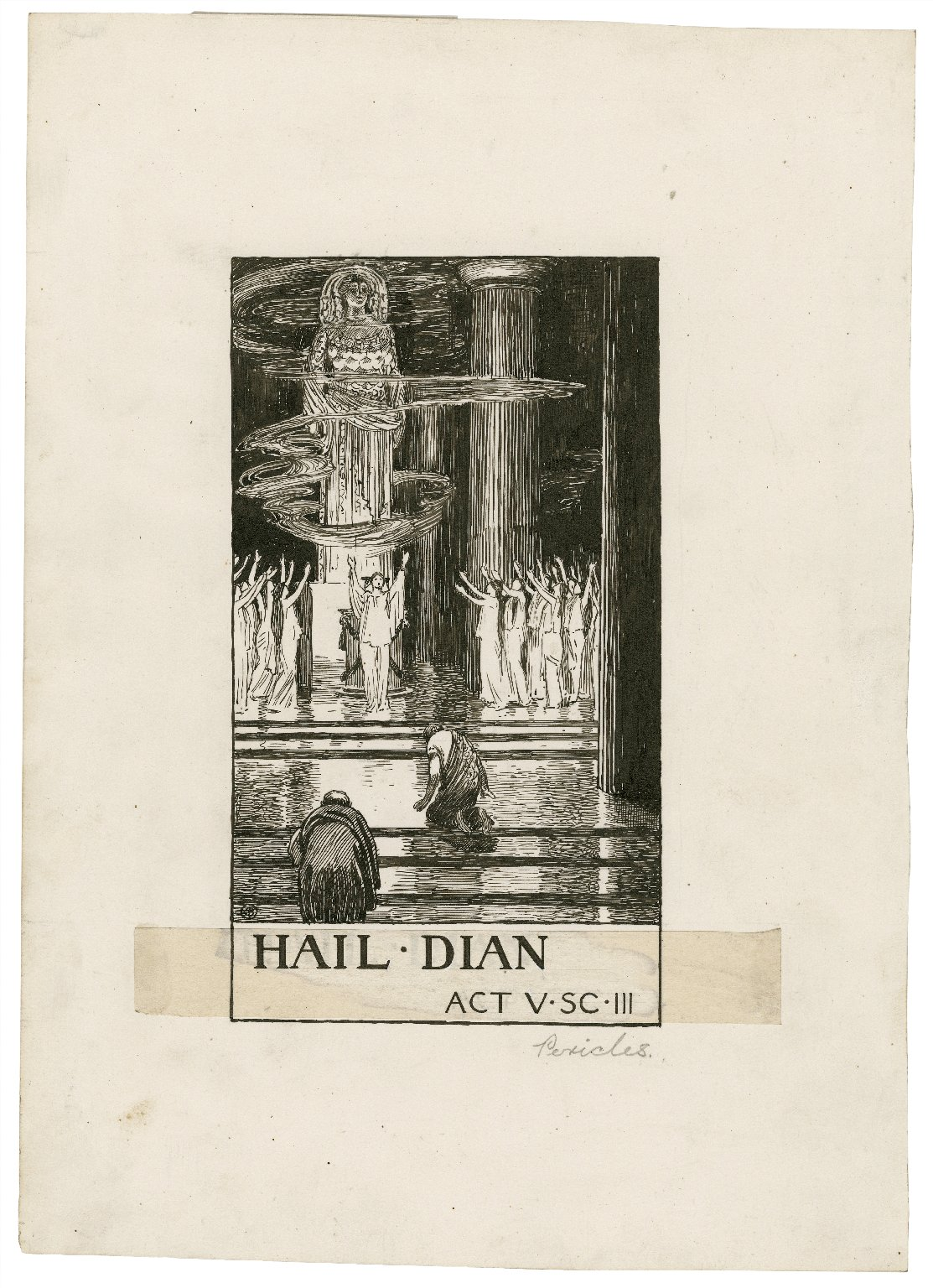 Pericles, a set of seven original drawings [graphic] / [Byam Shaw].