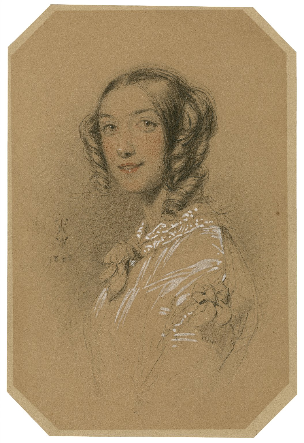 [Miss Woolgar (Mrs. Alfred Mellon)] [graphic] / T.H.W.