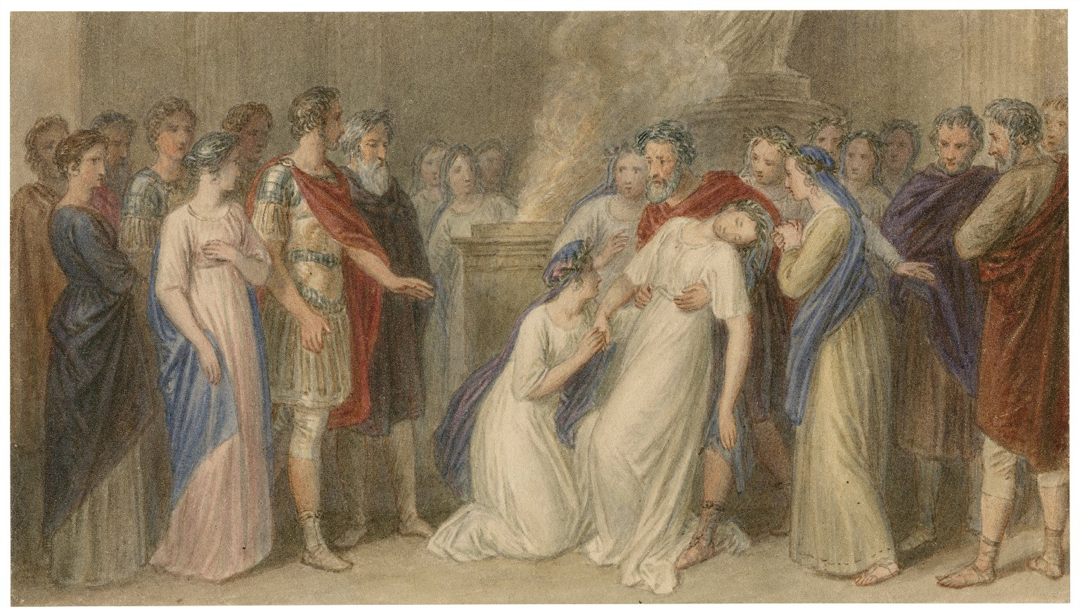 [Illustrations to Shakespeare - group scenes (tableaux)] [graphic] / [John Wright].