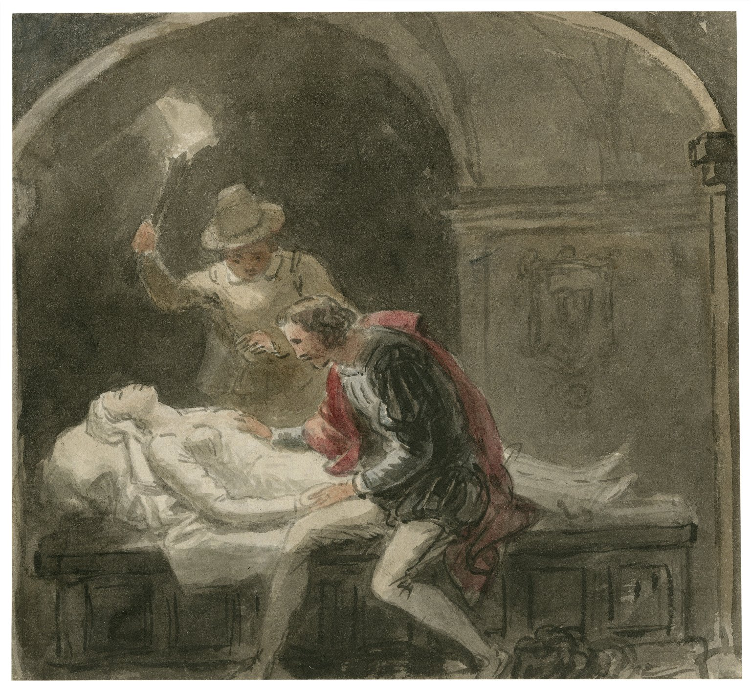 [Scenes from Romeo and Juliet] [graphic] / [John Wright].