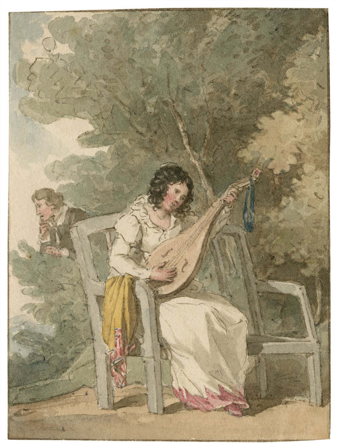 [Much Ado About Nothing] [graphic] / [John Augustus Atkinson].