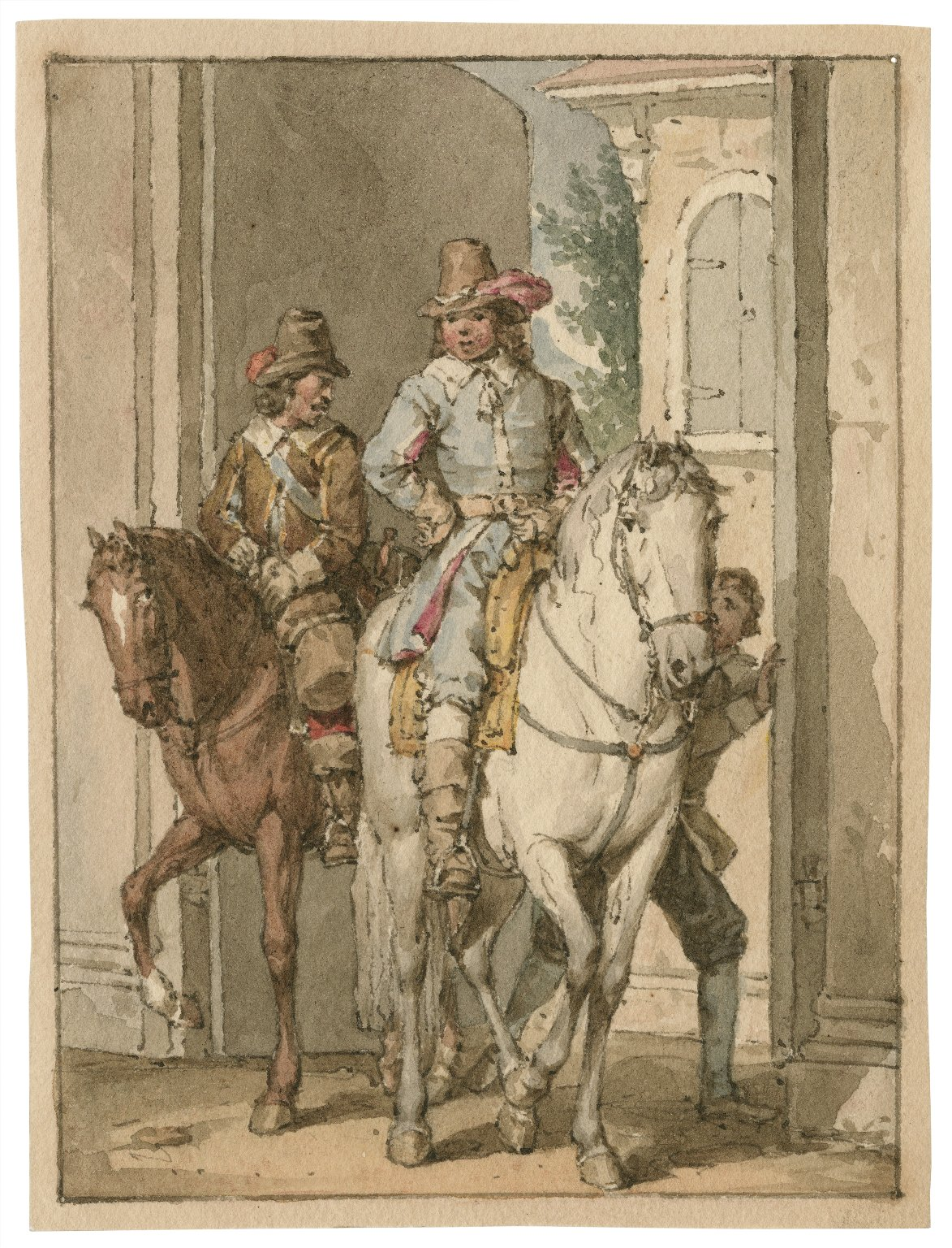 [Two gentlemen of Verona] [graphic] / [John Augustus Atkinson].