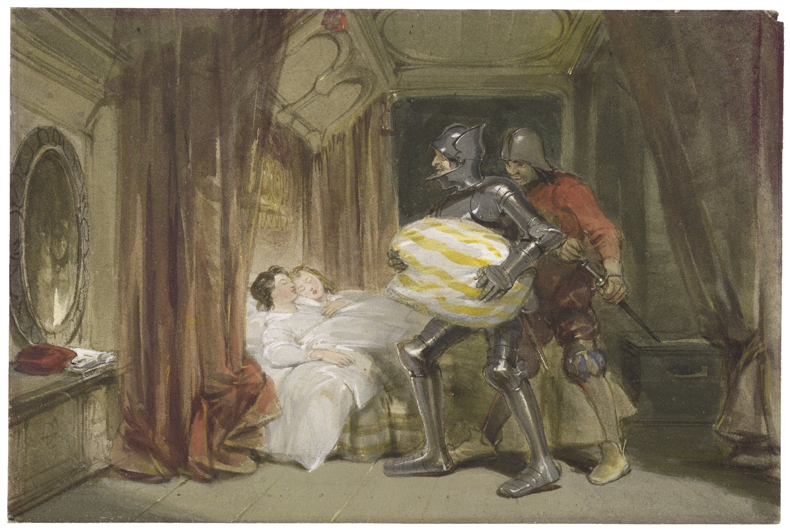 [King Richard III, V, 3] [graphic] / [George Cattermole].