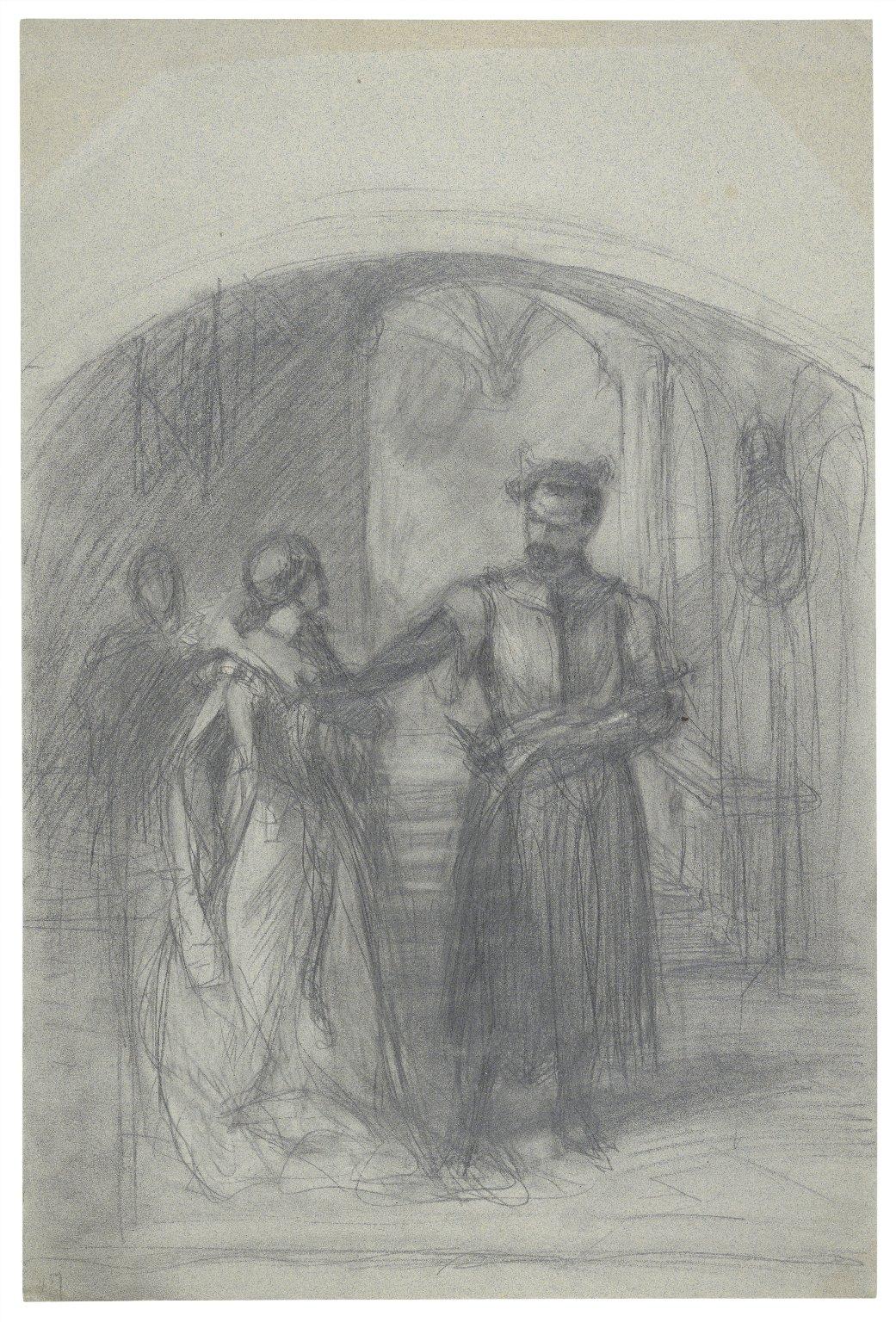 Othello & Desdemona [graphic] / [Felix Darley].