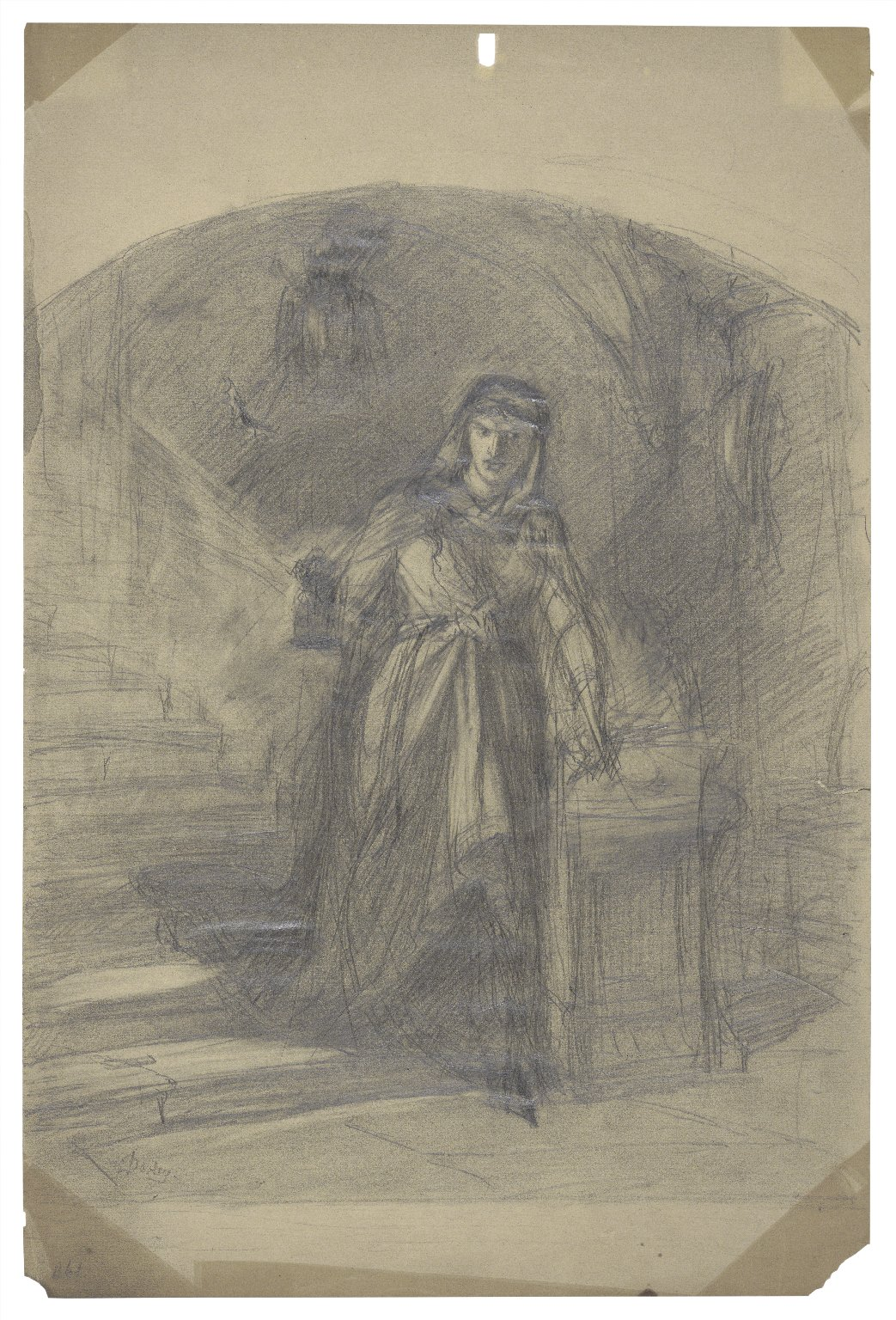 Lady Macbeth -- study for design not completed [graphic] / Darley.