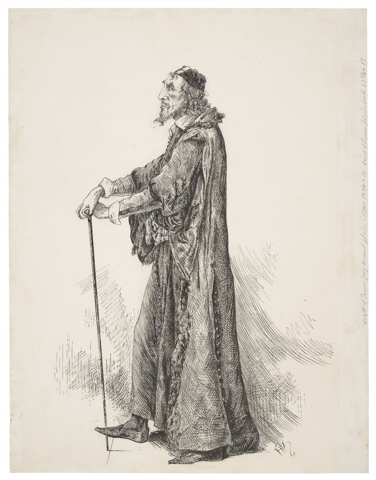 Mr. Henry Irving as Shylock [graphic] / Fitz.