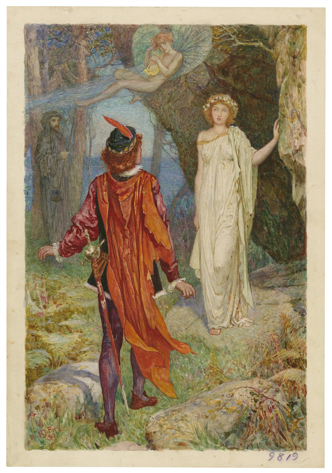 The tempest, I, 2 [graphic] / Henry Justice Ford.