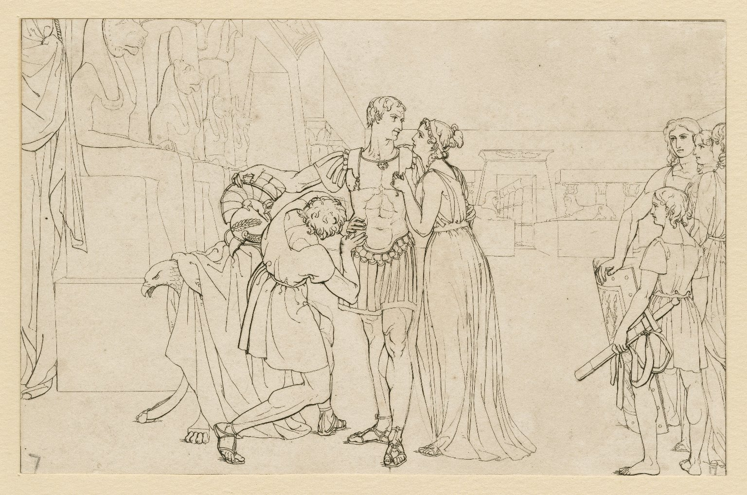 Illustrations of Shakespeare's Antony and Cleopatra [graphic] / [Frank Howard].