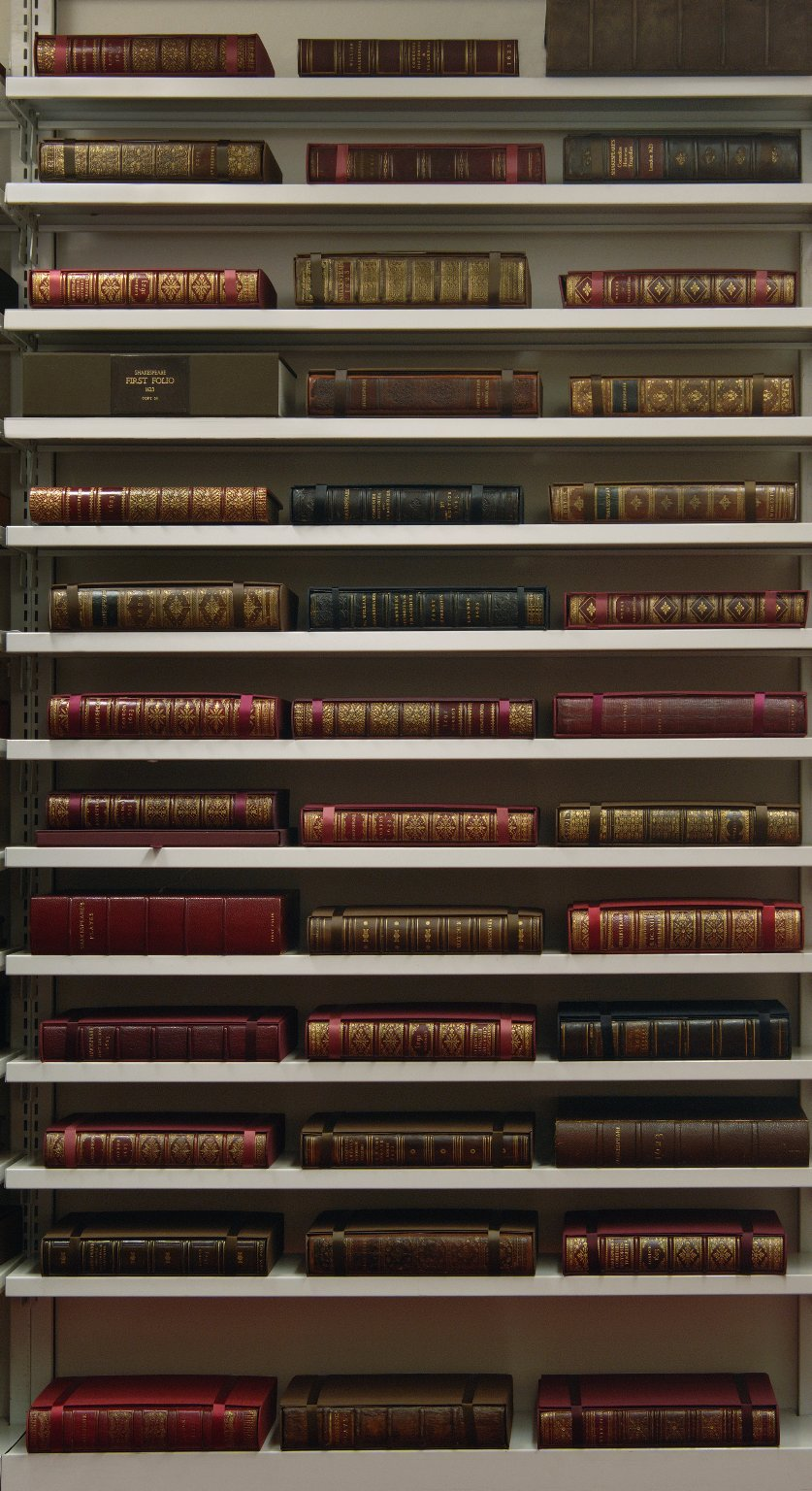 Folger Shakespeare Library, First Folios in the Vault