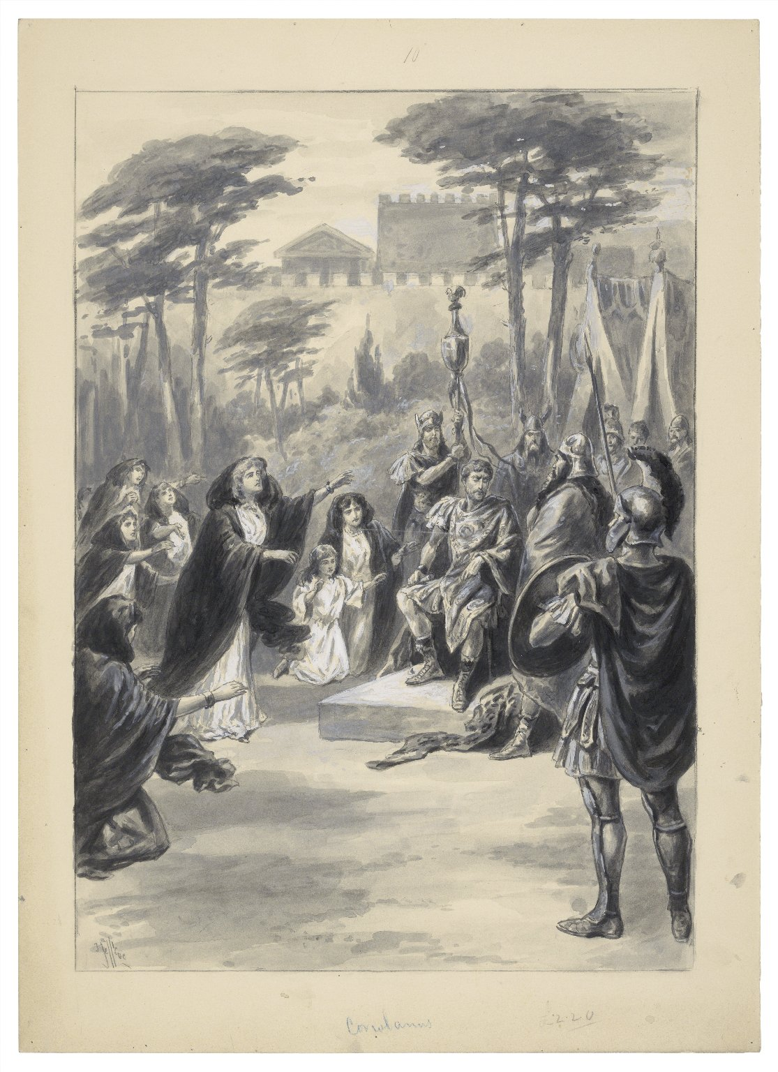 Coriolanus [graphic] / J. Jellicoe.