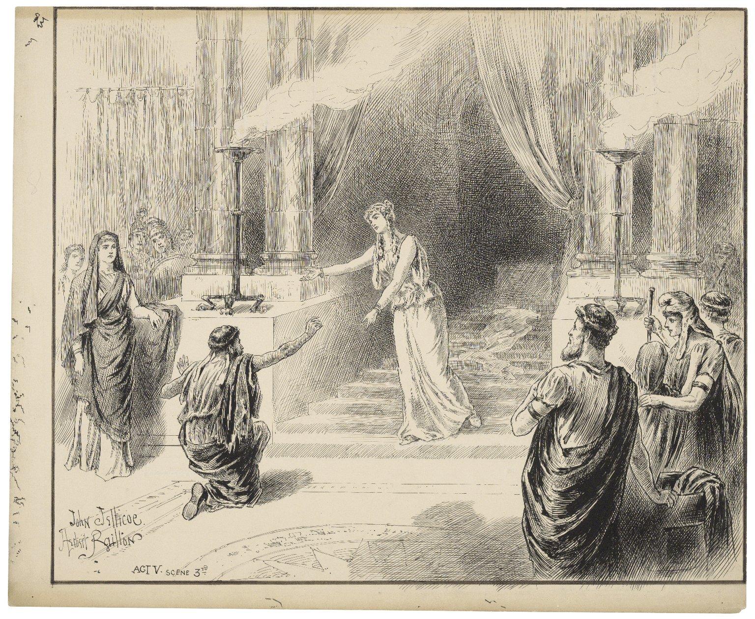 [Winter's tale, V, 3] [graphic] / John Jellicoe ; Herbert Railton.