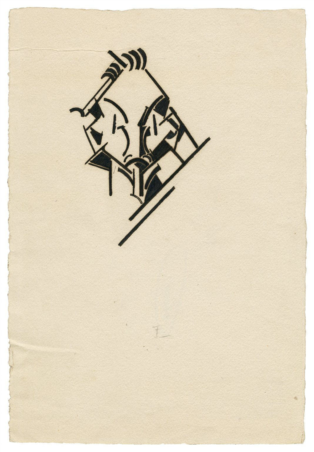 [Timon of Athens. A set of title pages and page decor] [graphic] / [Wyndham Lewis].