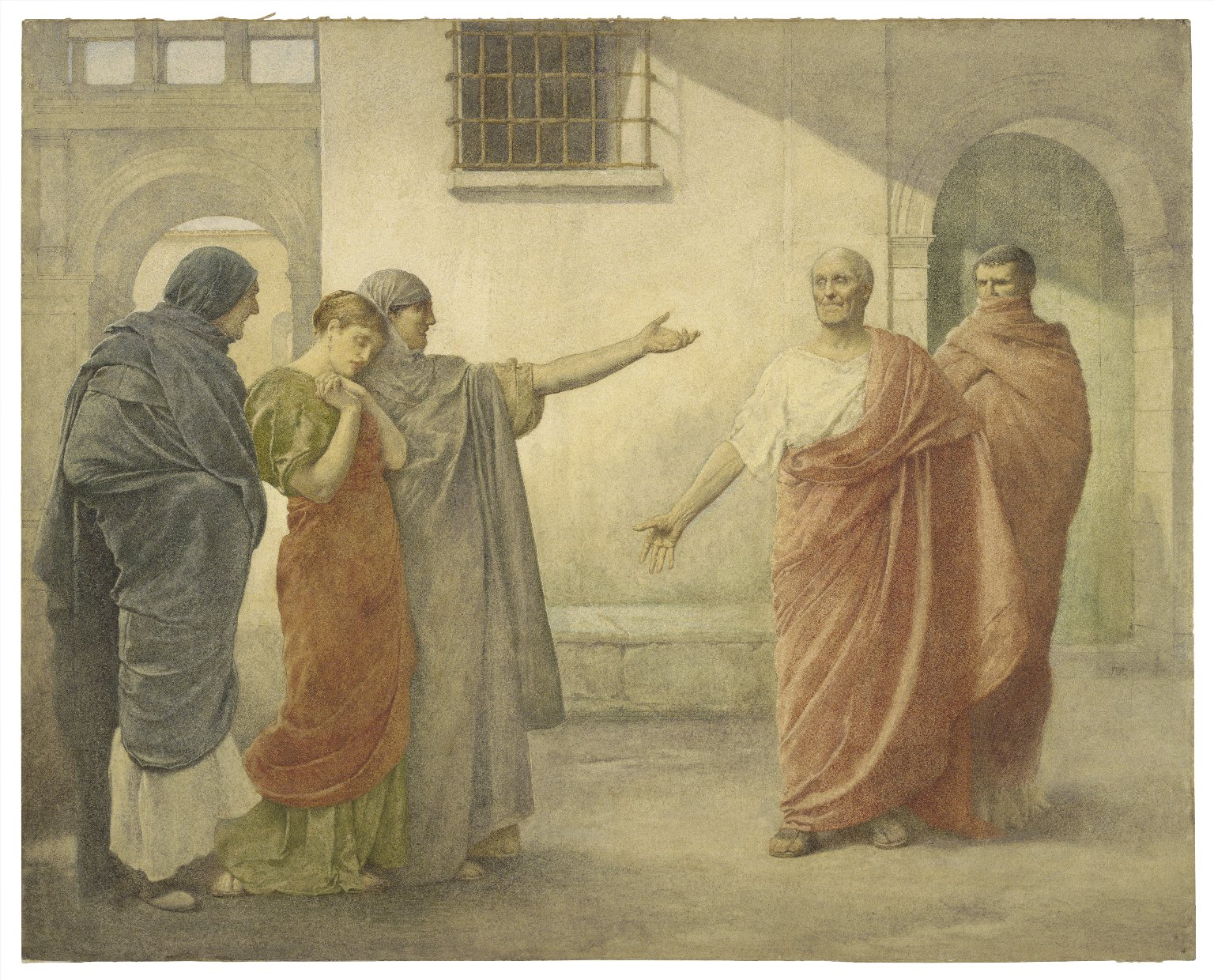 [Volumnia reproaching Brutus and Sicinius] [graphic] / J.D.L.