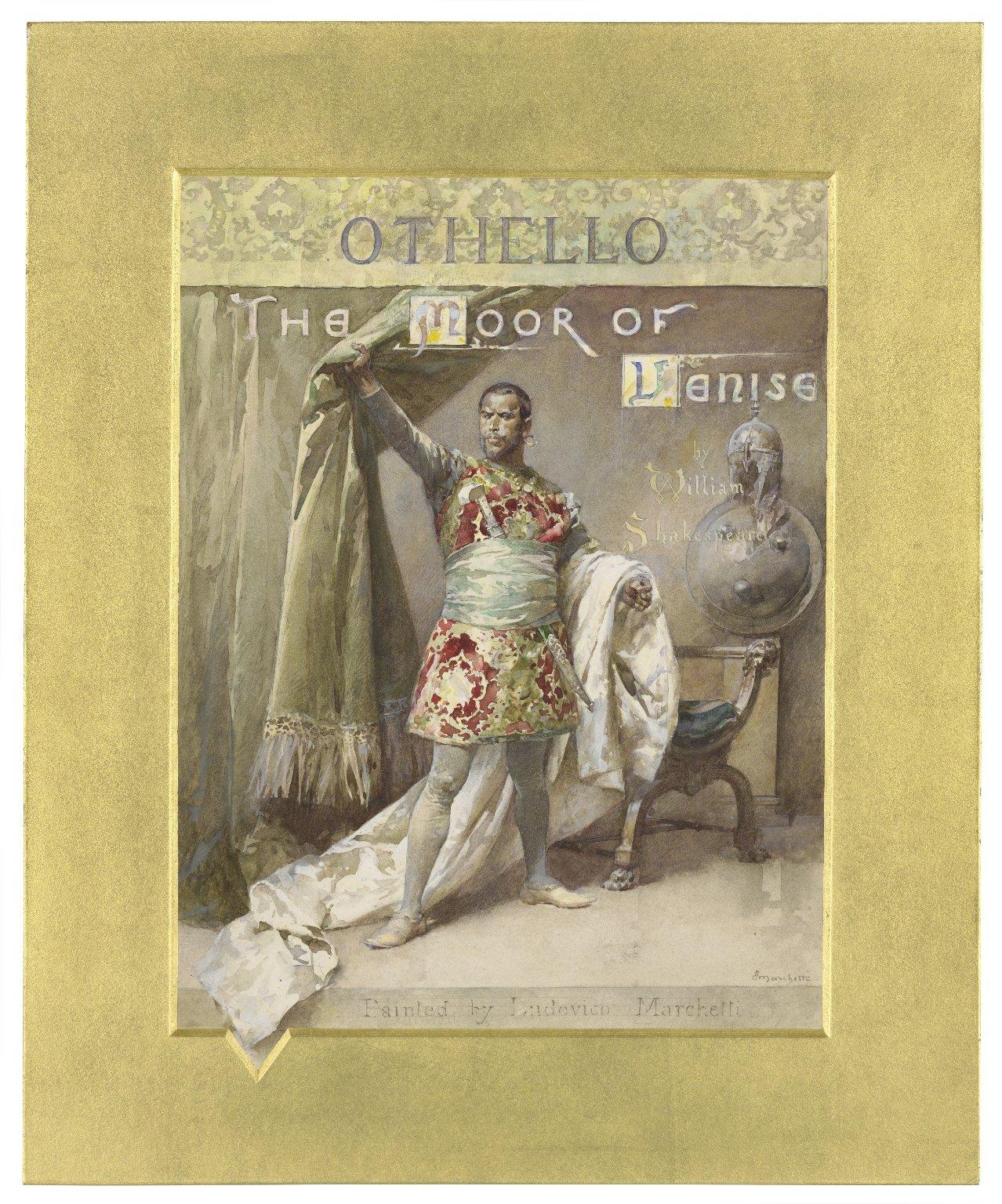 Othello, the Moor of Venise, by William Shakespeare [graphic] / L. Marchetti.