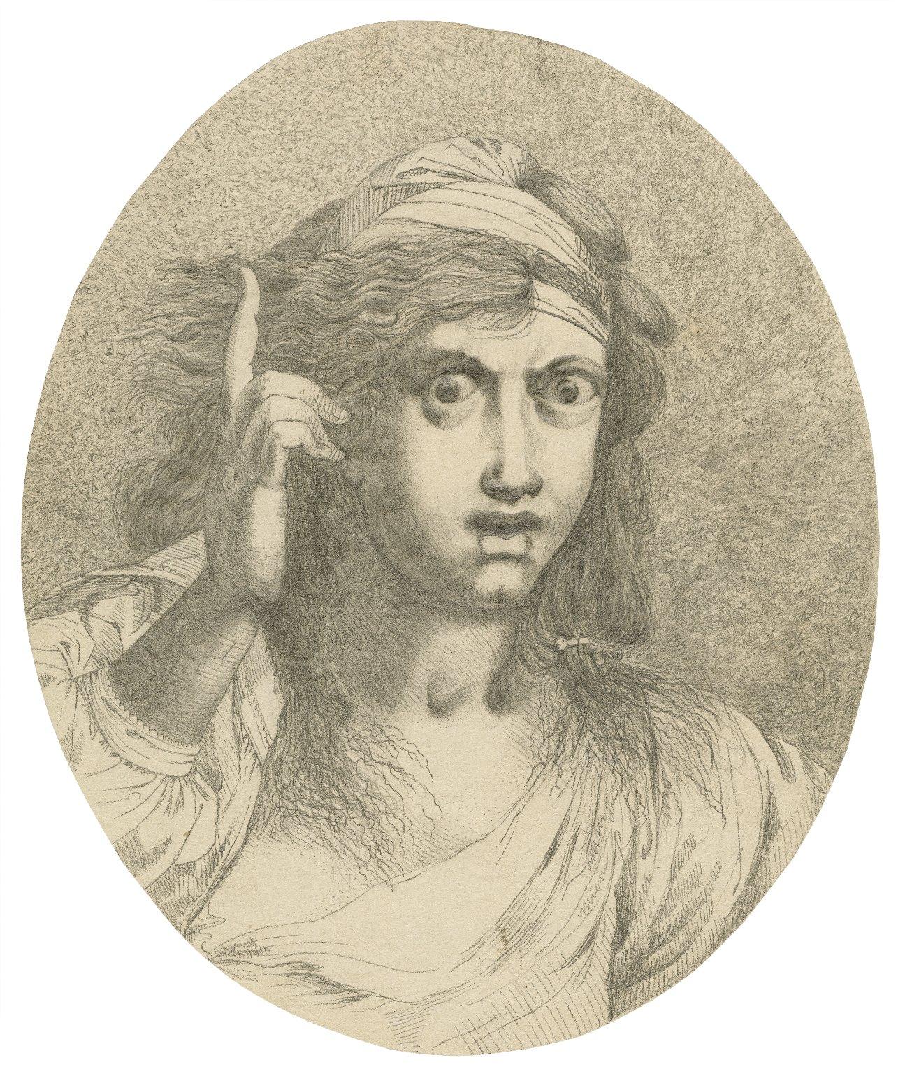 [Troilus and Cressida, portrait of Cassandra] [graphic] / [John Hamilton Mortimer].