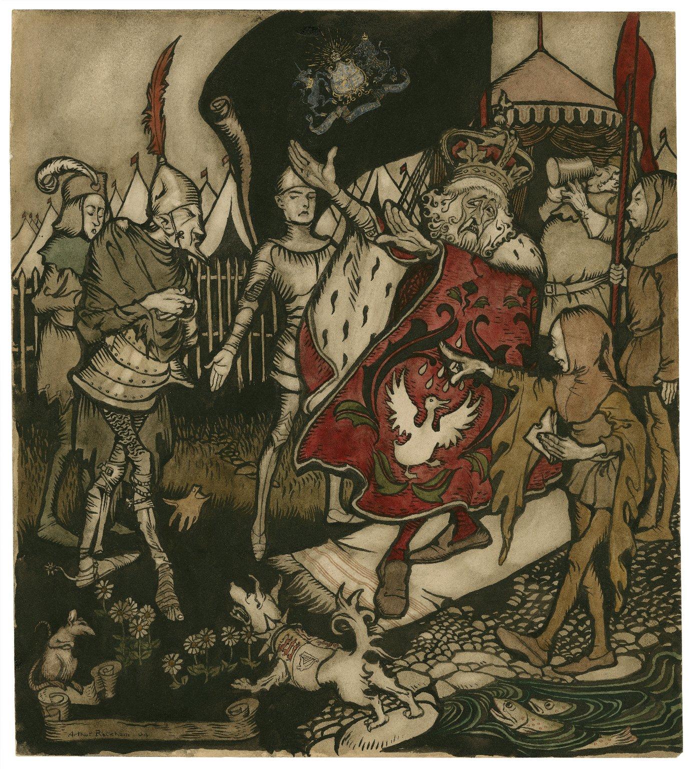 King Henry IV, pt. 1, act V, scene 1 [graphic] / Arthur Rackham.